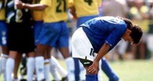 باجیو در فینال 1994 با برزیل