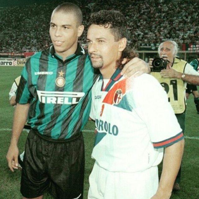 رونالدو و باجیو