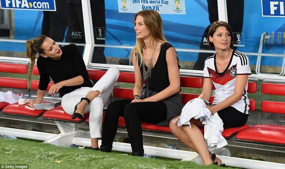 همسران بازیکنان آلمان