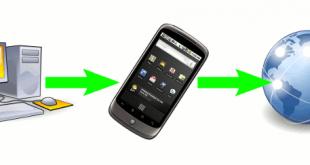 آموزش اتصال به اینترنت تلفن گوشی