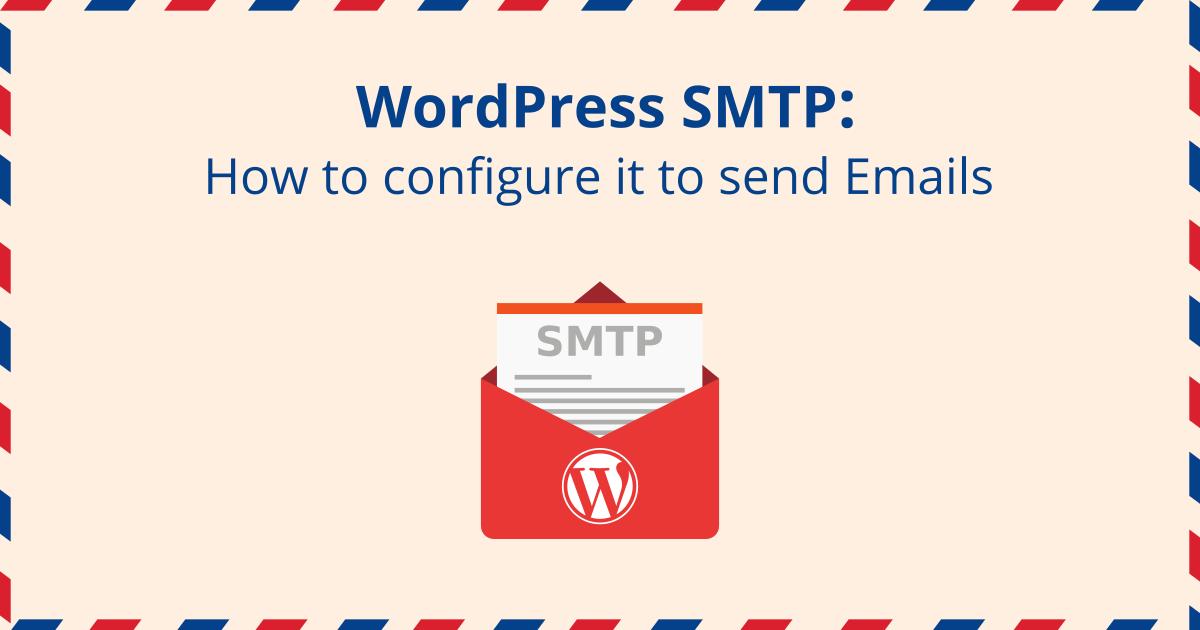 آموزش ایمیل SMTP در وردپرس