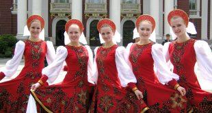 رقص دختران روسیه