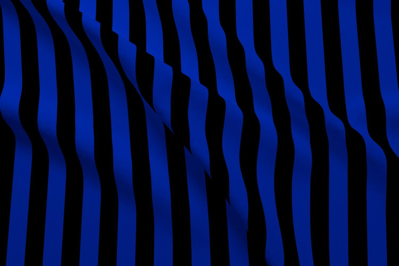 پرچم آبی و سیاه
