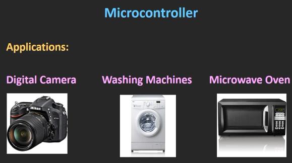 کاربردهای میکروکنتترلر
