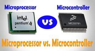 فرق بین میکروپروسسور و میکروکنترلر
