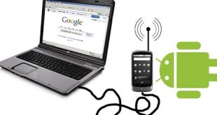 اینترنت با USB گوشی