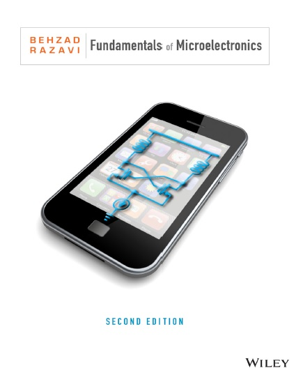 نسخه دوم کتاب Fundamentals of Microelectronics