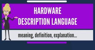 زبان توصیف سخت افزار